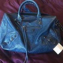 Balenciaga Polly Bag - Blue Photo