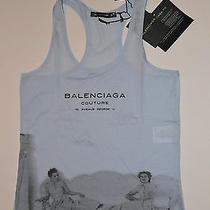 Balenciaga Printed Cotton Top Photo