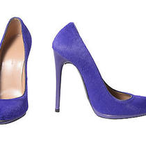 Balenciaga Purple Heels Photo