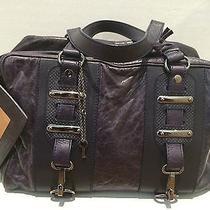 Balenciaga Purple Leather Chevre Hook Bag Photo
