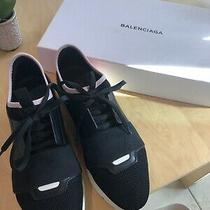 Balenciaga Race Runner Sneakers Sz 38 black&pink Color Comes With Box & Dust Bag Photo