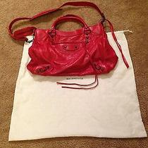 Balenciaga Red Handbag Crossbody Photo