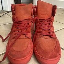 Balenciaga Red High Tops Sneakers Size Us 13 Eu 46 Made in Italy Photo