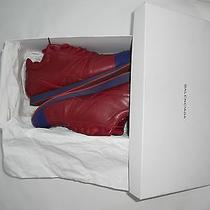 Balenciaga Red Low Top Fashion Sneakers. 100% Authentic W/ Box. 485  Tax New Photo