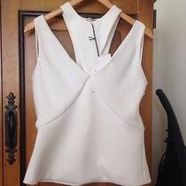 Balenciaga Size 38 White Top Good Price Photo