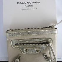 Balenciaga Small Gold Pouch/clutch New in Box Photo