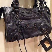 Balenciaga Style Bike Handbag Purse Photo