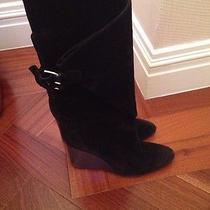 Balenciaga Suede Boots Photo