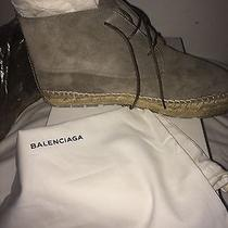 Balenciaga Suede Espadrille Photo
