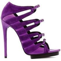 Balenciaga Suede Sandals Photo