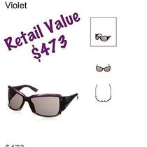 Balenciaga Sunglasses  Violet Photo