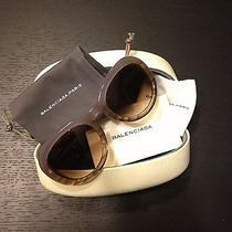 Balenciaga Sunglasses Violet. Retails for 364 Photo