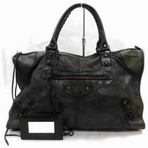 Balenciaga Tote Bag the Work Black Leather 1803036 Photo