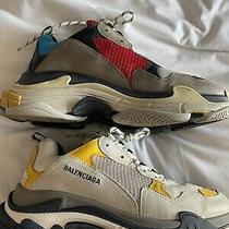 Balenciaga Triple S Sneakers Mens Size 13 - Eu 45 - No Box Photo