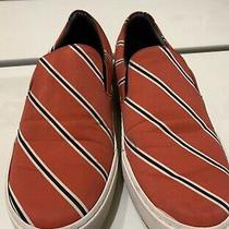 Balenciaga Women Red Slip on Sneakers Size 38 Photo