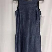 Balenciaga Womens Fr Size 36 Blue Sleeveless Dress Photo