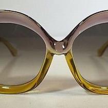 Balenciaga Yellow/purple Sunglasses Photo