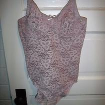 Bali 7432 Stretch Blush Lace Body Brief Shaper Underwire Shapewear Size 36b Photo