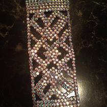Ballroom Bracelet Swarovski Crystal Ab Jewelry Dance Competition Dance Costume Photo