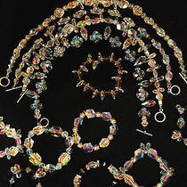 Ballroom Dance/bridal Swarovski Necklaces and Bracelets Photo