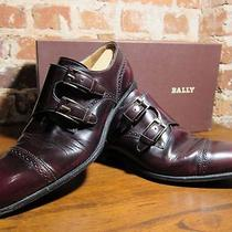 Bally Barao - Wine Calf - Size 8m Photo