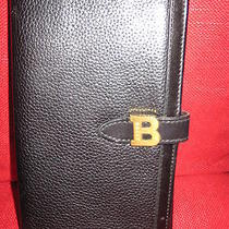 Bally Black Leather Wallet Photo