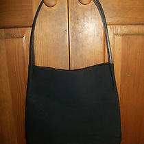 Bally Black Microfiber Purse - Excellent Photo