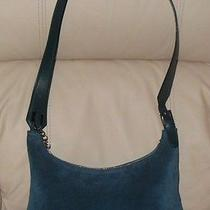 Bally Blue Suede Handbag Photo