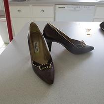 Bally Brown Heels Photo