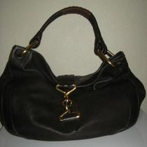 Bally Brown Leather Large Hobo Shoulder Bag Photo