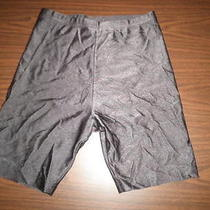 Bally Brown Spandex Bike Dance Exercise Shorts Large Photo