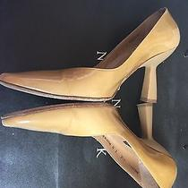 Bally Calf Tan Patent 3.5