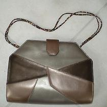 Bally Gold Clutch Handbag Photo