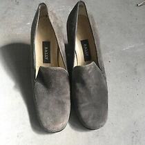 Bally Gray Suede Size 6 1/2 Made in England Photo