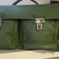 Bally Green Hand Bag Photo