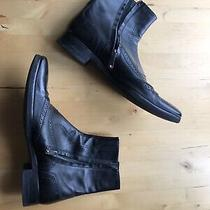 Bally Leather Boots Size 9.5 Made in Italy Photo