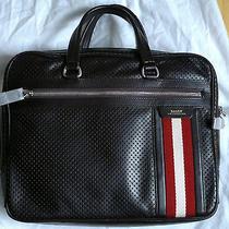 Bally Leather Small Computer Bag Photo