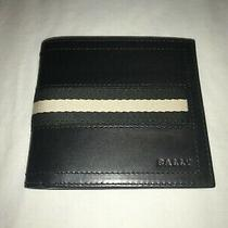 Bally Leather Wallet Boxed Photo