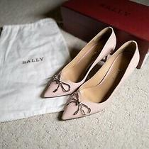 Bally Lisetta Pink Pump Size 36.5 Photo