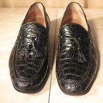 Bally Mans Crocodile Shoe