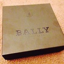 Bally Men's Double Side Suit Leather Belt Photo