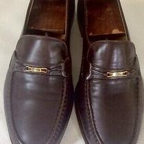 Bally Mens Glove Leather Loafersbrownmade in switzerland11.5 D Photo
