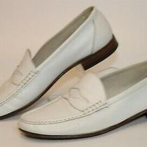 Bally Mens Size 9 W Pompano Leather Slip on Loafers Swiss Made Shoes Vintage Photo