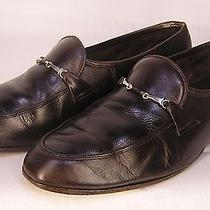 Bally of Switzerland Vintage Mens Brown Dress Loafers Monarch Size 9 Photo