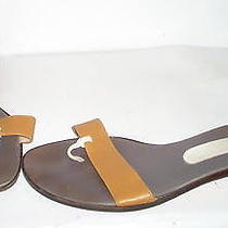 Bally of Switzerland Womens Brown Sandals Shoes 7.5 Us Photo