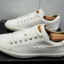 Bally Orivel Calf Plain Lace-Up Sneakers - White Leather - Size 12 - Eur 46 Photo
