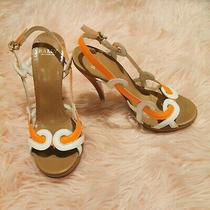 Bally Papaye High Heeled Sandal 37eu 36 1/2us Msrp780 Photo