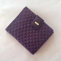 Bally Purple Leather Wallet Photo