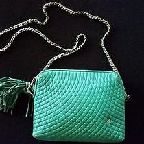 Bally Purse Green Leather Photo