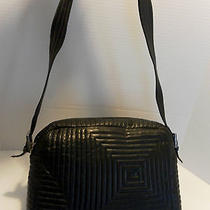 Bally Quilted Black Lamb Shoulder/camera Style Bag  Vintage  Handbag  Photo